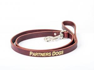 Partners Custom Leather Leash